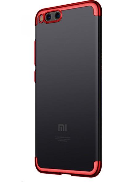 Caseup Xiaomi Mi6 Kılıf Laser Glow Kırmızı + Nano Cam