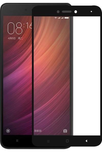 Caseup Xiaomi Redmi Note 4X Kavisli Ekran Koruyucu Siyah