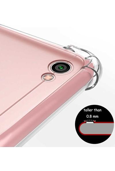 Caseup Xiaomi Redmi Note 5A Prime Kılıf Titan Crystal Şeffaf + Nano Cam