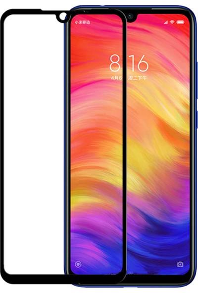 Caseup Xiaomi Redmi Note 7 Pro Ekranı Tam Kapatan Ekran Koruyucu Siyah