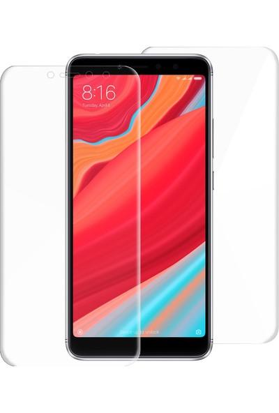 Caseup Xiaomi Redmi S2 Kavisli Şeffaf Ekran Koruma Seti - Ön Ve Arka