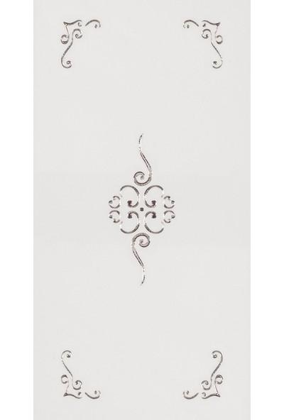 Mcm 30X60 Sevilla Beyaz Gümüş Seramik Dekor