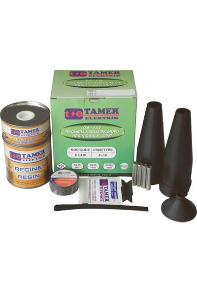 Tamer Reçineli Ek Muf (4X4-4X6)