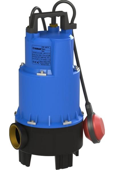 Sumak Sdf15 Foseptik Dalgıç Pompa 220 Volt 1.5 Hp