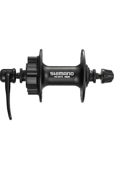 Shimano Hb M475 Ön Göbek 36D Siyah