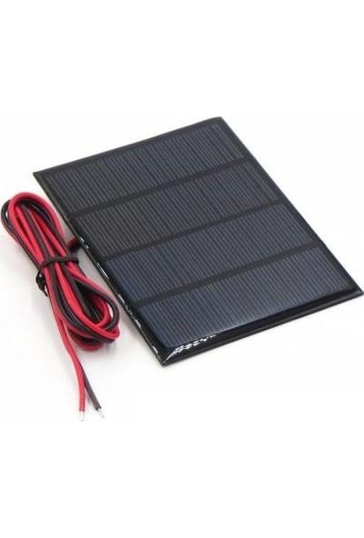 Solar Güneş Enerji Paneli Kablolu 18V