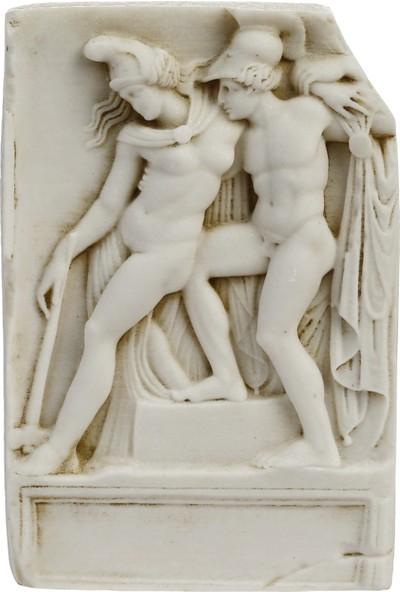 Müzedenal Afrodısıas, Akhılleus Ve Panthesılea Rölyefi 16 CM