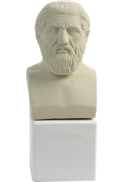 Müzedenal Platon Heykeli 15 CM
