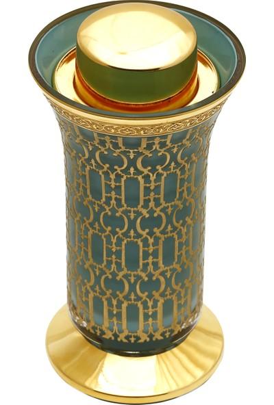 Müzedenal Metal Ayaklı Vazo Buhurdanlık Latis-İ Harem Koleksiyonu 19 CM