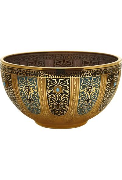 Müzedenal Küçük Kase Haseki Sultan Koleksiyonu 19 CM