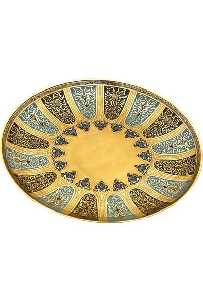 Müzedenal Büyük Tabak Haseki Sultan Koleksiyonu 38X38 CM