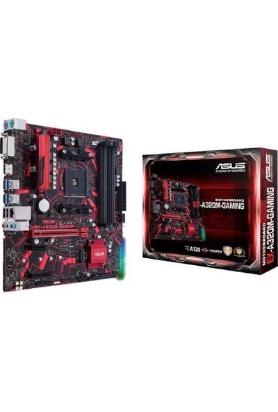 ASUS EX-A320M- Gaming AMD A320 2133MHz Socket AM4 USB 3.0 SATA Anakart