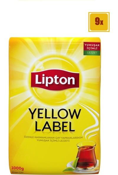 Lipton Yellow Label Çay 1 kg 9' lu