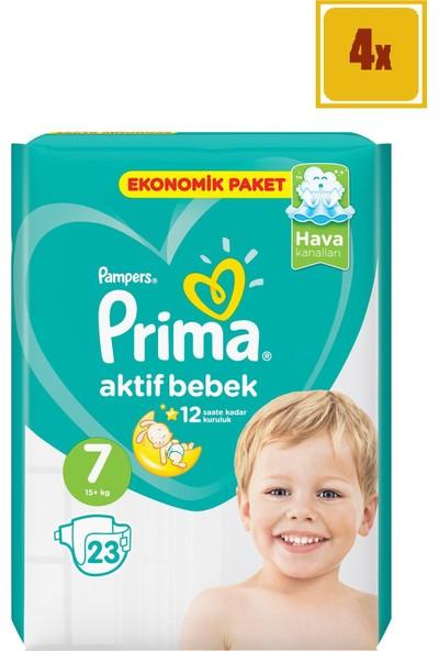 Prima Aktif Bebek Ekonomik Paket - 7 Beden 23'Lü 4'Lü Set
