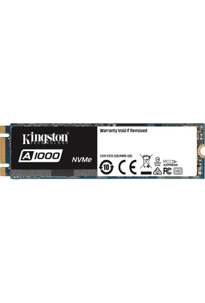 Kingston A1000 240GB 1500MB-1000MB/s PCIe NVMe SSD SA1000M8/240G
