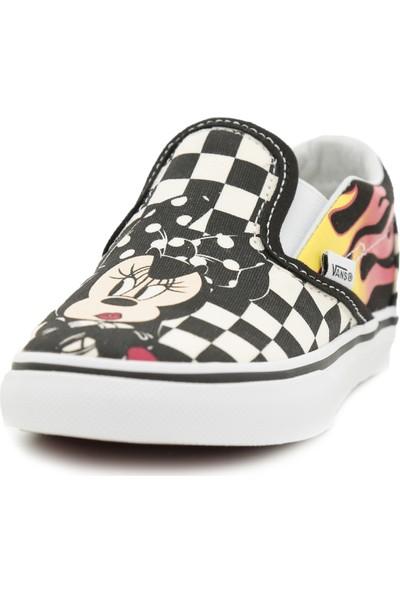 Vans Vn000Ex8Uj41 Td Classic Slip-On Çocuk Günlük Ayakkabı Siyah
