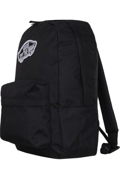 Vans Vn0A3Uı6Blk1 Realm Backpack Kadın Sırt Çantası Siyah