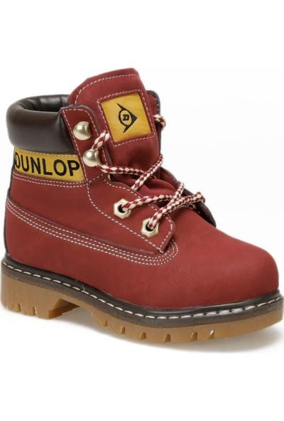 Dunlop 626135P31Z Bordo Unisex Çocuk Bot