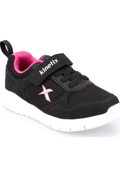 Kinetix Rinto Siyah Fuşya Kız Çocuk Yürüyüş Ayakkabısı