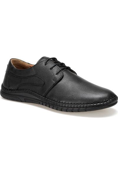 Polaris 5 Nokta 91.100545.M Siyah Erkek Deri Klasik Ayakkabı