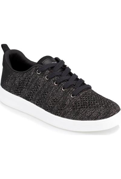 Kinetix Zurih Siyah Kadın Sneaker Ayakkabı