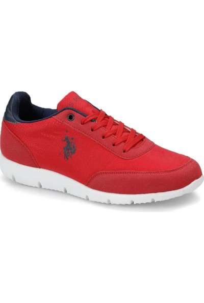 U.S. Polo Assn. Bone Kırmızı Kadın Sneaker Ayakkabı