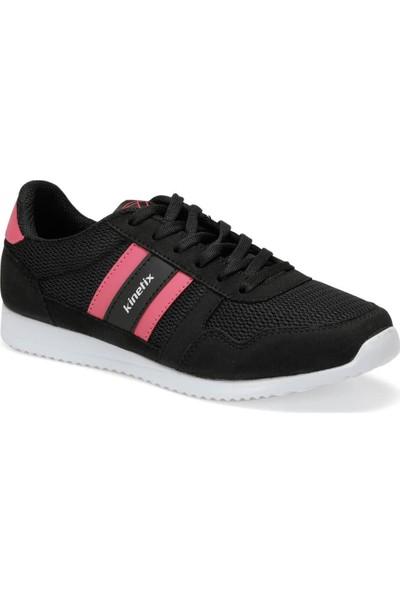 Kinetix Carter Mesh W Siyah Fuşya Kadın Sneaker Ayakkabı