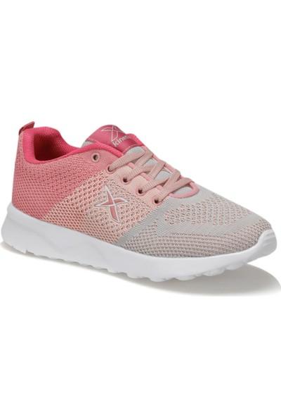 Kinetix Fluse Gri Pembe Kadın Sneaker Ayakkabı