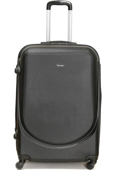 Travel Soft U Kmr 6101-B Siyah Unisex Büyük Valiz