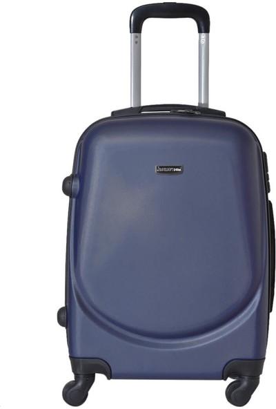 Travel Soft U Kmr 6101-K Lacivert Unisex Küçük Valiz