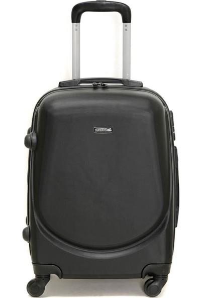 Travel Soft U Kmr 6101-K Siyah Unisex Küçük Valiz