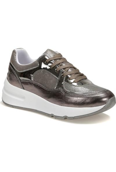 Butigo Sakura52Z Cilt Platin Kadın Sneaker Ayakkabı