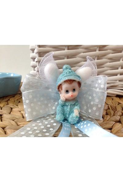 Cemrek Düşünen Bebek Biblolu Biblolu Bebek Şekeri (25 Adet)