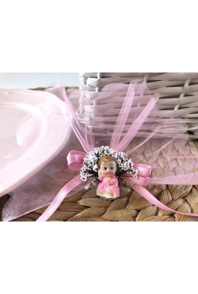 Cemrek Mini Bornozlu Bebek Biblolu Bebek Şekeri (25 Adet)