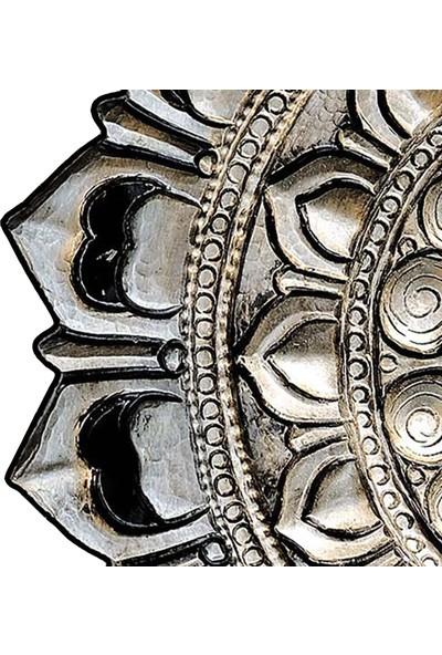 Dekoreko Figürlü Yuvarlak Özel Kesim Halı 115 Bakır ( 160 X 160 )
