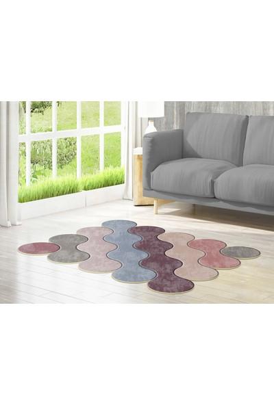 Dekoreko Figürlü Özel Kesim Halı 117 Renkli ( 80 X 200 )