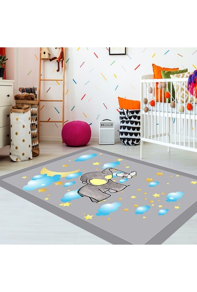Kozzy Home Rfe6081190 Çocuk Halısı 133X190 Cm