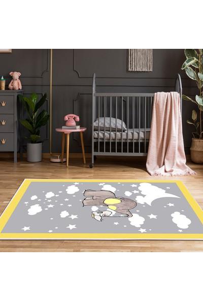 Kozzy Home Rfe6086140 Çocuk Halısı 100X140 Cm
