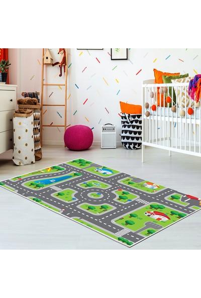 Kozzy Home Rfe6087140 Çocuk Halısı 100X140 Cm