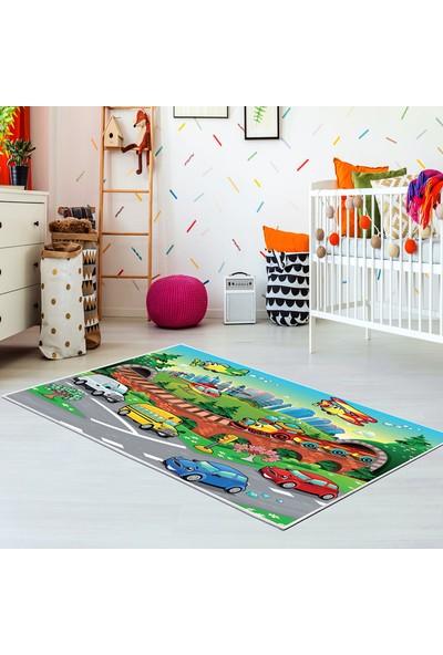 Kozzy Home Rfe6090140 Çocuk Halısı 100X140 Cm