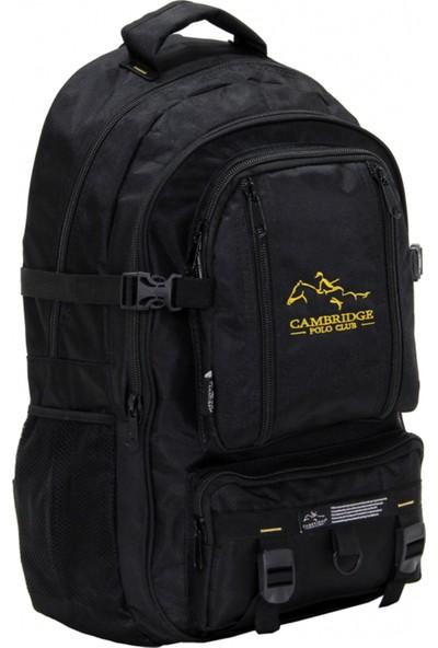 Cambridge Polo Club Pldgc90003 Dağcı Sırt Çantası Siyah