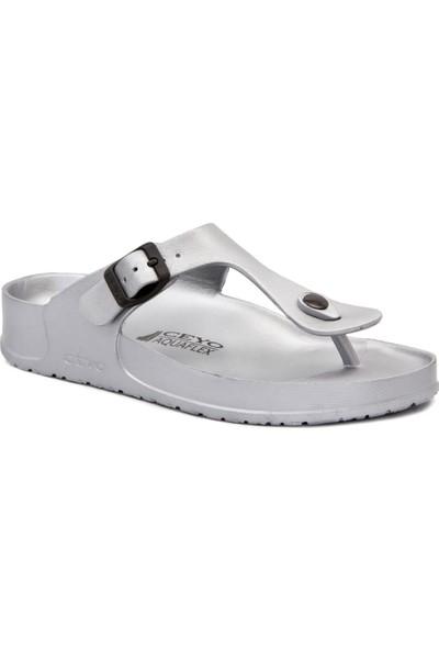 Ceyo 9Y Aquaflex Gümüş Terlik Sandalet