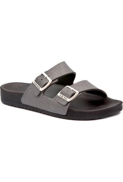 Ceyo 9Y Bahama 11 Gümüş Terlik Sandalet