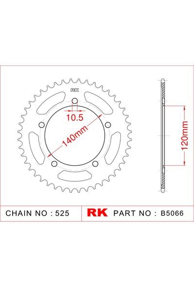 Suzuki DL 650 V-STROM ABS RK Çelik Arka Dişli B5066-42 (2014-2016)
