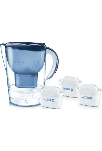 Brita Marella XL Filtreli Su Arıtmalı Sürahi Mavi Üç Filtreli