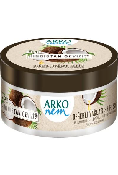Arko Nem Değerli Yağlar Hindistan Cevizi Yağlı Krem 250 ml