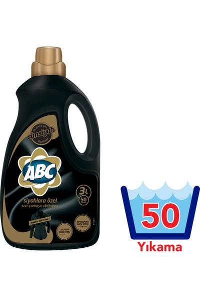 ABC Sıvı Çamaşır Deterjanı Siyahlar 3000 ml