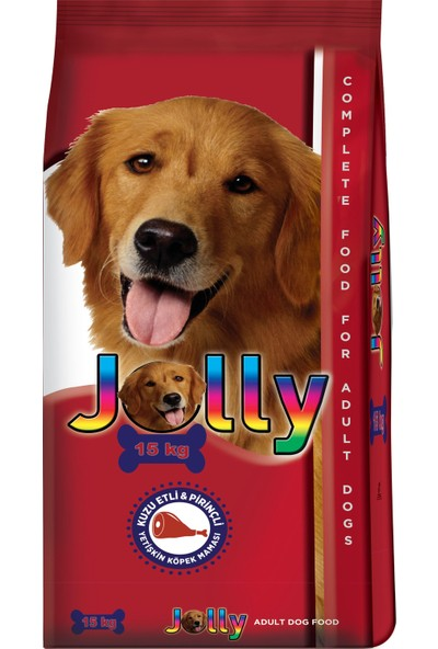 Jolly 15 Kg Kuzu Etli Pirincli Yetiskin Köpek Maması
