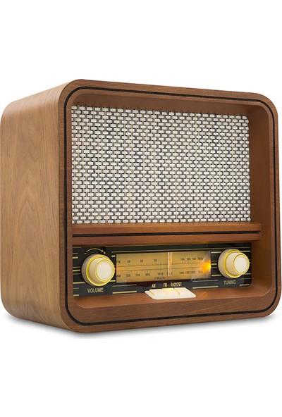 Mikado Nostalgia MN-R70 5W*2 FM Radio+Bluetooth . Destekli Müzik Kutusu