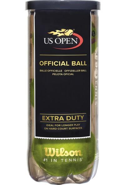 Wilson Sarı Toplar Wrt1062 3 Lu Us Open Tenis Topu